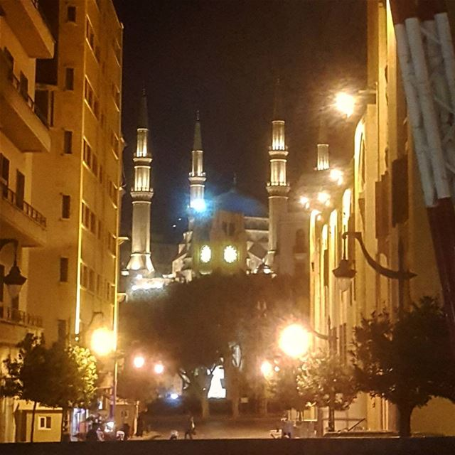 From Beirut with Love.....💫💫💫💫💫💫💫💫 bestwishes  eidmubarak ... (Downtown Beirut)